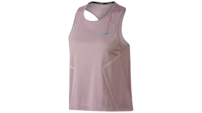 Women's Dry Miler running tanktop barely rose