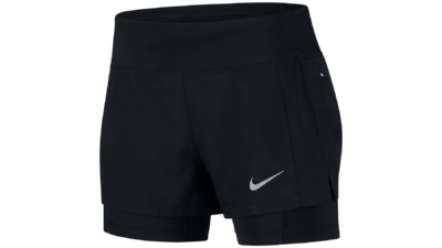 Nike Eclipse 2-in-1 shorts black
