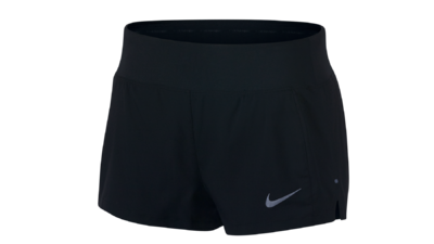 "Eclipse 3"" running shorts black"