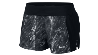 "Eclipse 3"" running shorts black texture"
