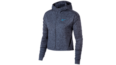 Women's Element Hoodie running - gridiron/ashen slate/htr
