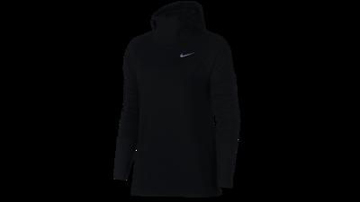 Nike Women's Element Hoodie running - black