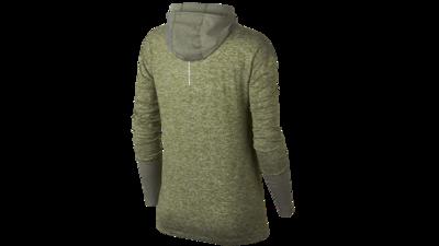 NikeWomen's Element Hoodie running - medium olive/reflective silver