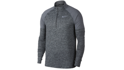Men's Element running top 1/2 zip [dark grey]