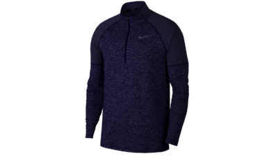 Men's Element running top 1/2 zip [obsidian/blue void]