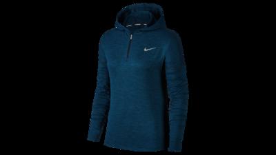 Nike Element Hoodie women's running - obsidian/blueforce
