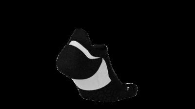 Nike Elite Cushion No show Running socks black/white unisex
