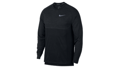 Nike Men's Dry Medalist Running Top anthracite/black