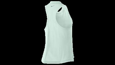 Nike Women's Miler tanktop [barely grey-green]