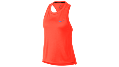 Nike Women's Miler tanktop [crimson pulse]