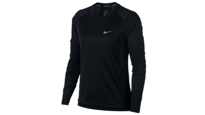 Women's Dry Miler running top [black]