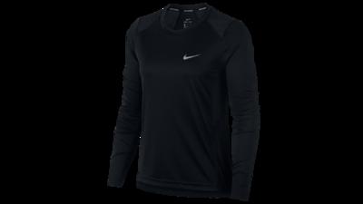 Nike Women's Dry Miler running top [black]