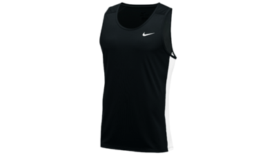 Men's Miler running tank [black-white]