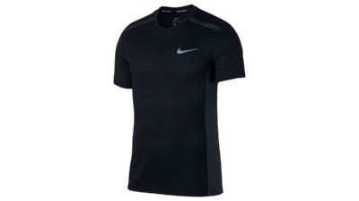 Men's Cool Miler short sleeve running top [black]