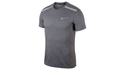 Men's Cool Miler short sleeve running top [grey]
