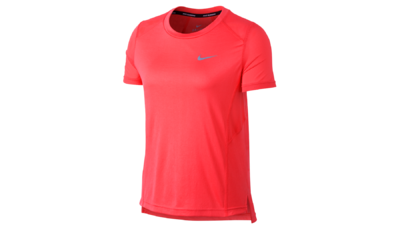 Women's Miler short sleeve running top [sea coral]