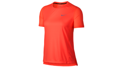 7e040240a6f Women s Miler short sleeve running top  crimson pulse