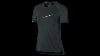 Nike Women's Miler Top short sleeve black/gunsmoke