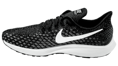 Nike Air Zoom Pegasus 35 black/white/gun smoke/oil grey