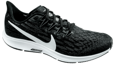 Air Zoom Pegasus 36 black/white/thunder grey