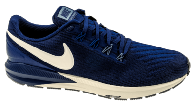 Air Zoom Structure 22 blue void/vast grey/gym blue