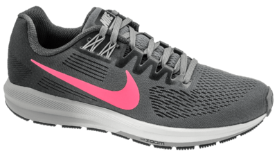 Nike Air Zoom Structure 21 gunsmoke/sunset pulse