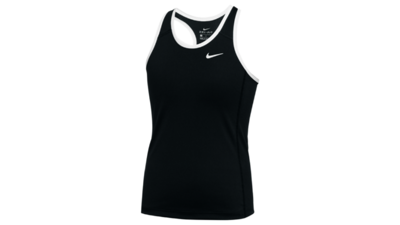 Women's running tank [black-white]