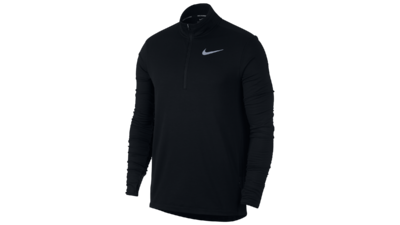 Men's Sphere Element running top 1/2 zip [black]