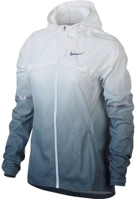 Women's Shield Jacket Ice Blue Snow White