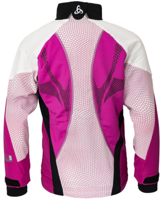 Odlo Jacket Frequency Web Violet/Roze KIDS