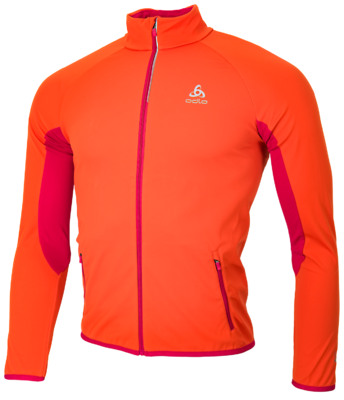 Odlo Jacket Stryn Kids  Orange