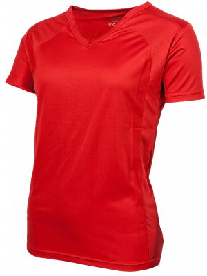 Oltees T-shirt woman short sleeve red