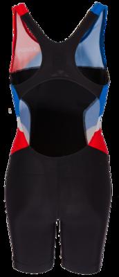 Onda Triathlonpak Dames Pro zwart/rood/wit /blauw