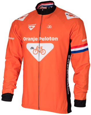 36 Oranje peloton Winterjack