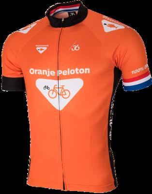 Oranje peloton veste velo
