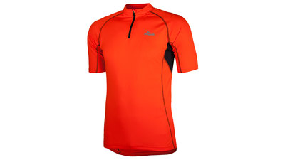 Rogelli Cycling Jersey short sleeve Perugia fluo orange