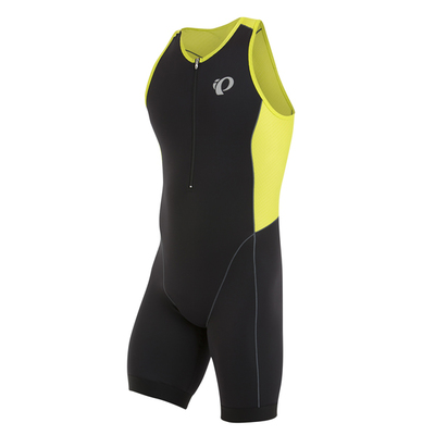 Elite Pursuit Triathlon suit Zwart/Groen