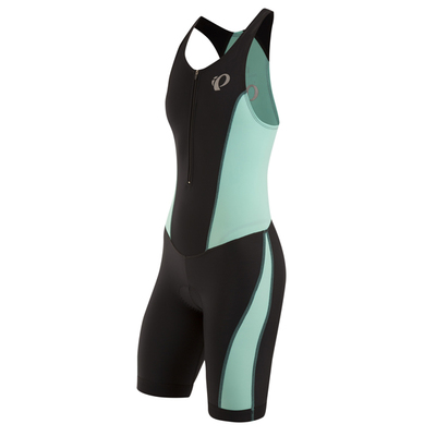 Pearl Izumi Select Pursuit tri suit Zwart/Groen Dames