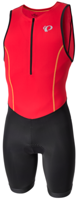 Pearl Izumi Select Pursuit triathlonpak Rood/Zwart