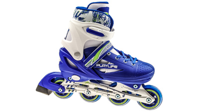 Joker Skates White Blue