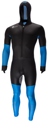 Speedskating Suit Noir/Bleu
