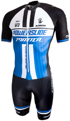 Powerslide Inline Skinsuit World Blau 2019