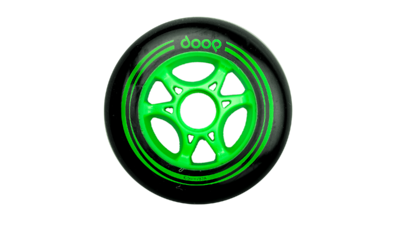 Doop Black/Green 100mm