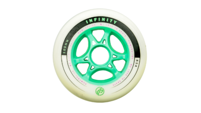 Infinity II 100mm Limited Edition Wit/Zwart/Mint Groen
