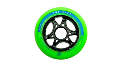 Powerslide Infinity II 90mm Limited Edition Frog Green/Blue