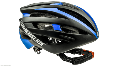 Powerslide Race Attack Helm swartz/blau