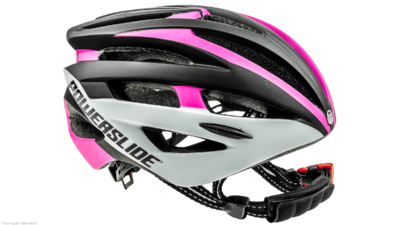 Race Attack helmet pink/white