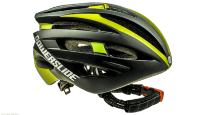 Powerslide Race Attack Helm swarz/gelb