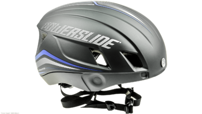 Racing Wind Helmet grey/blue