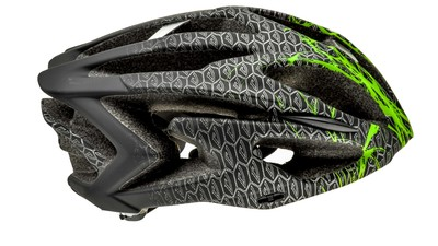 Powerslide VI Helm black/green/silver